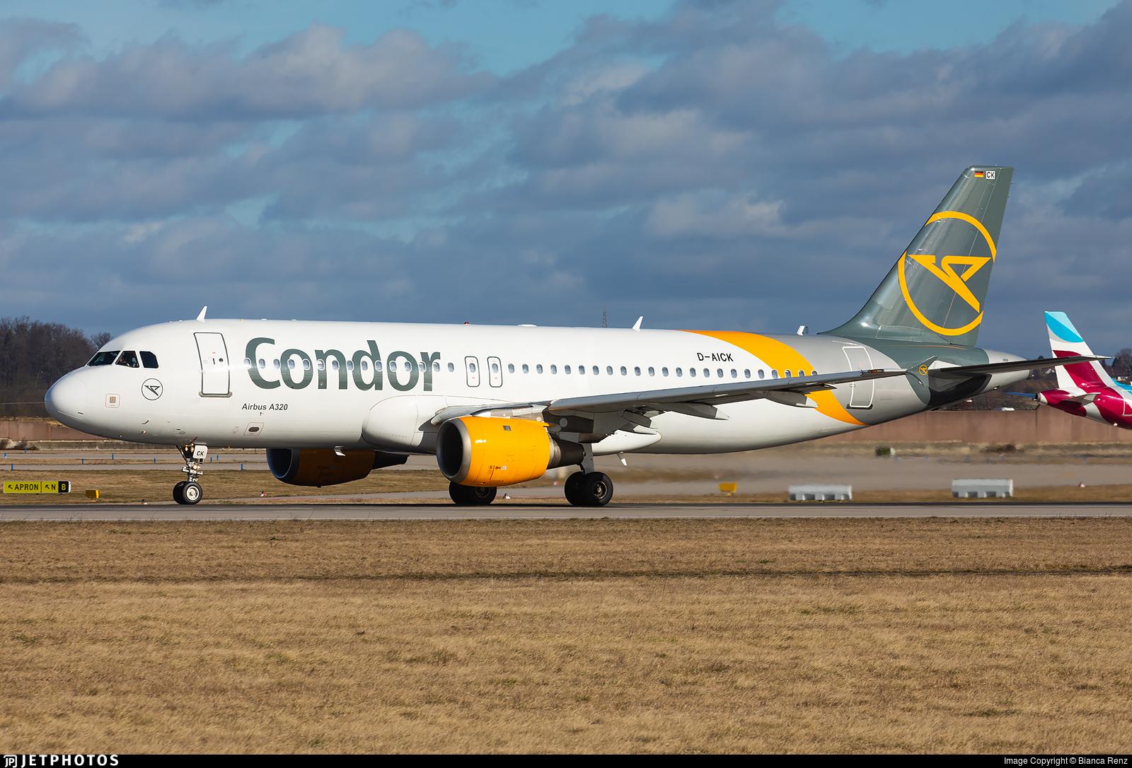 D-AICK - Airbus A320-212 - Condor