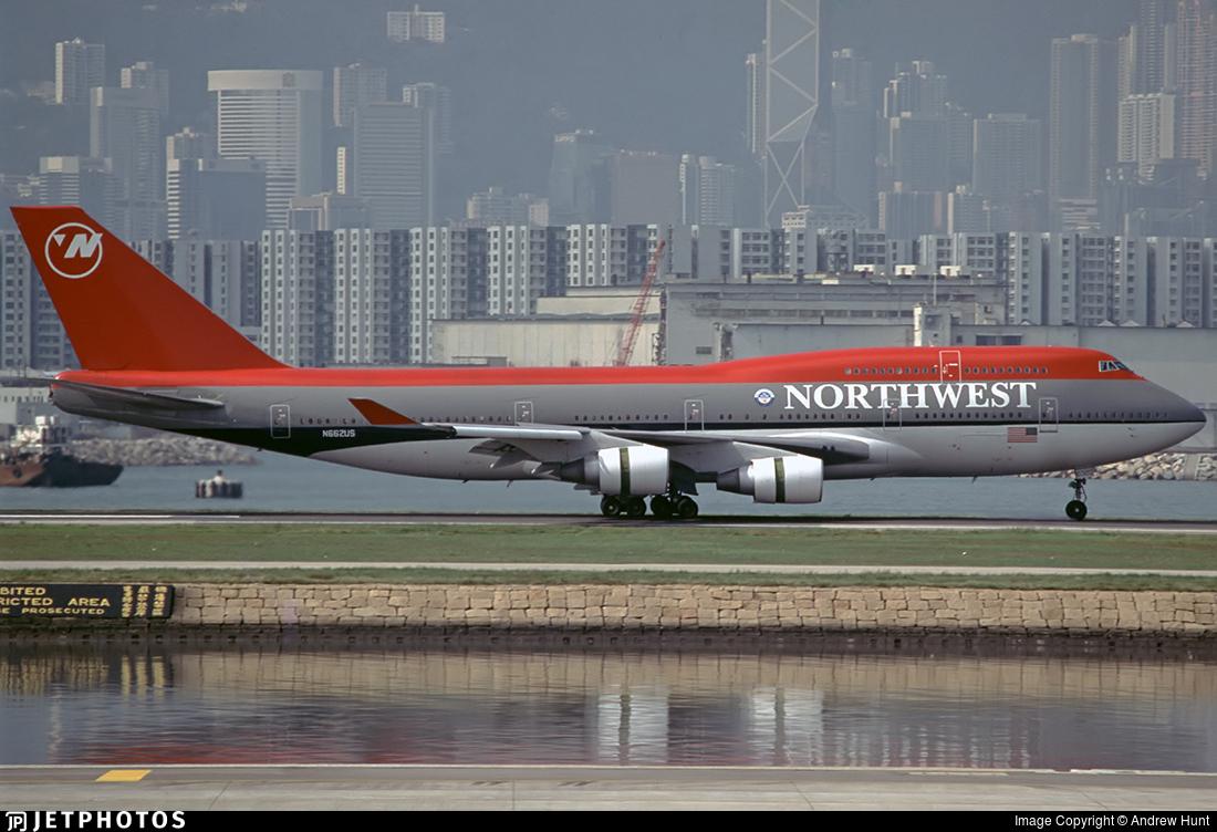 N662US - Boeing 747-451 - Northwest Airlines