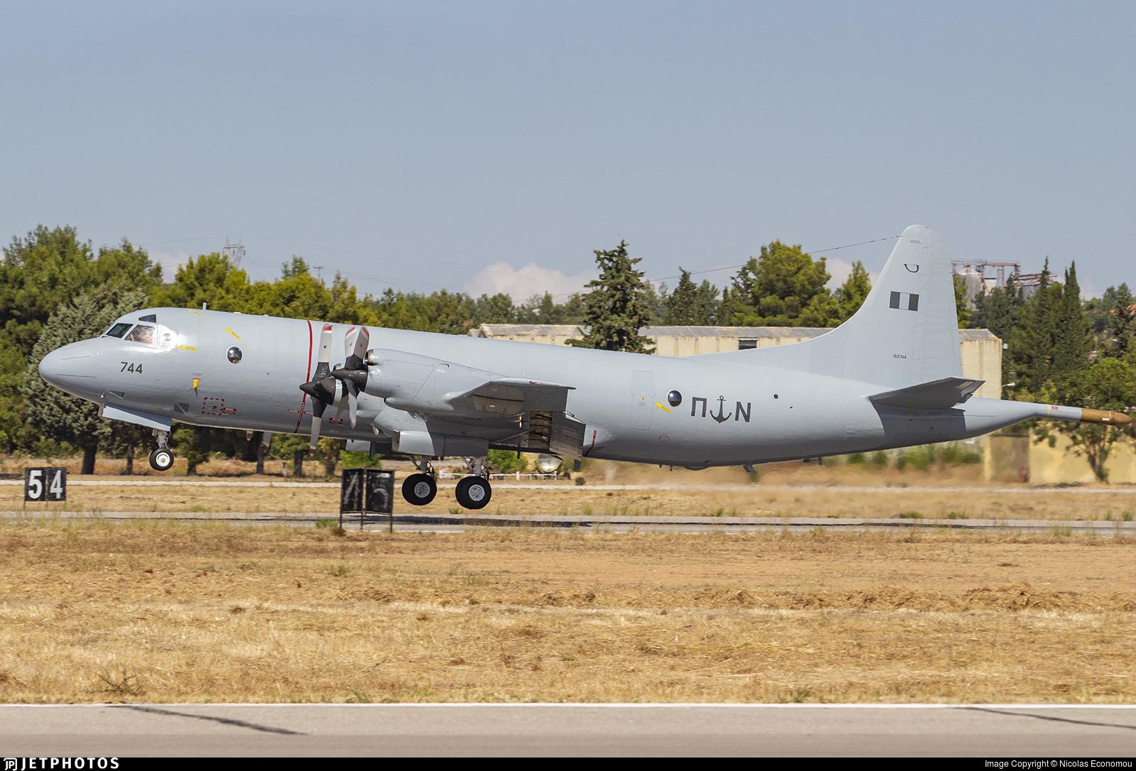 152744 - Lockheed P-3B Orion - Greece - Navy