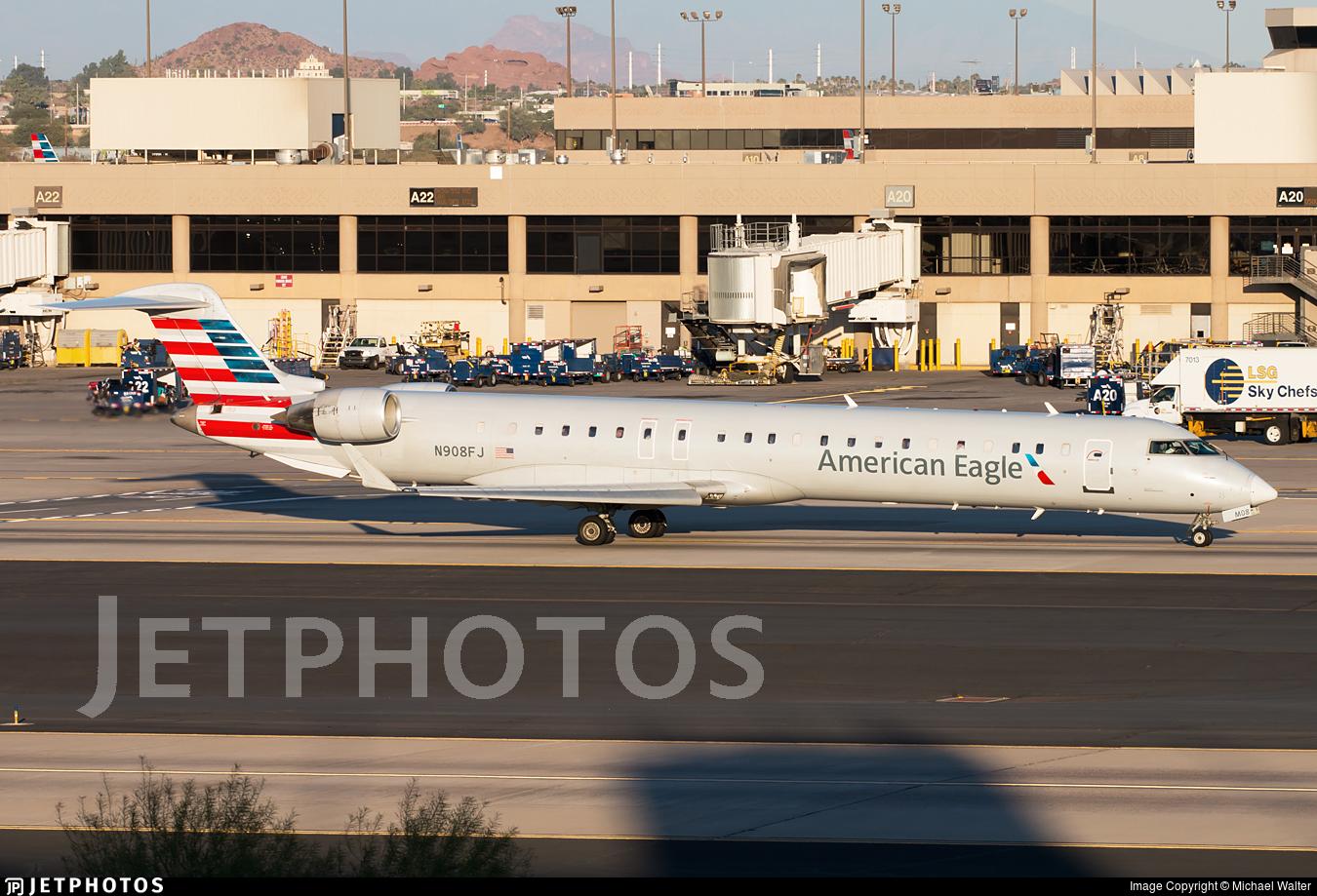N908FJ - Bombardier CRJ-900ER - American Eagle (Mesa Airlines)