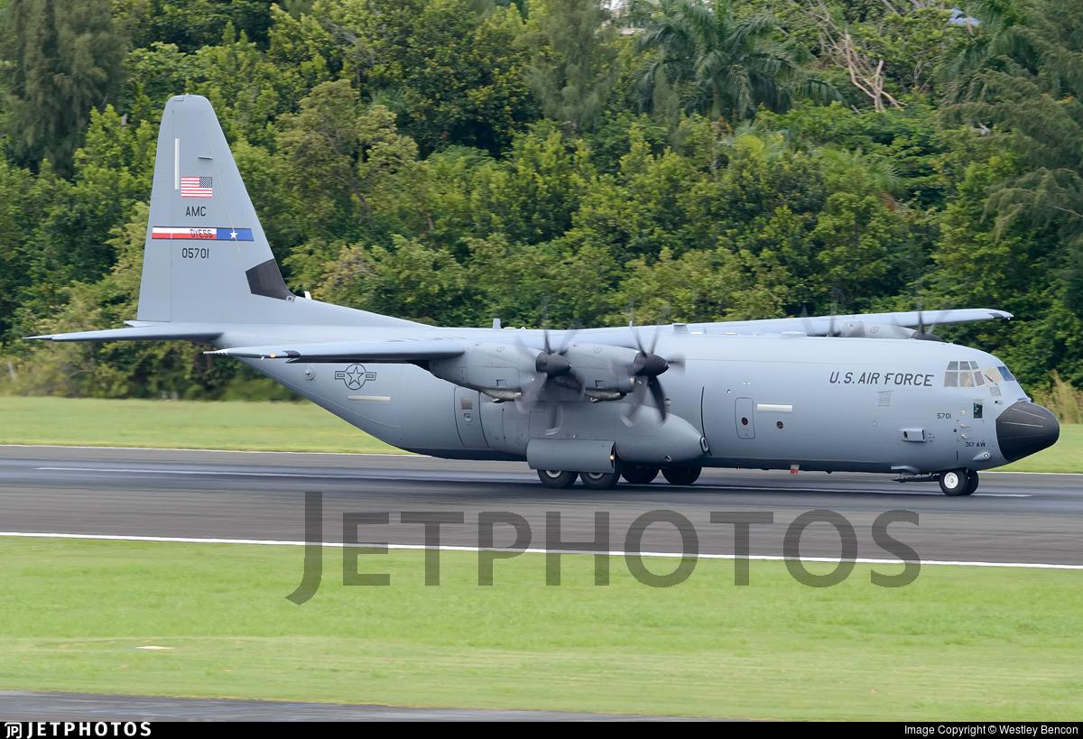 10-5701 - Lockheed Martin C-130J-30 Hercules - United States - US Air Force (USAF)