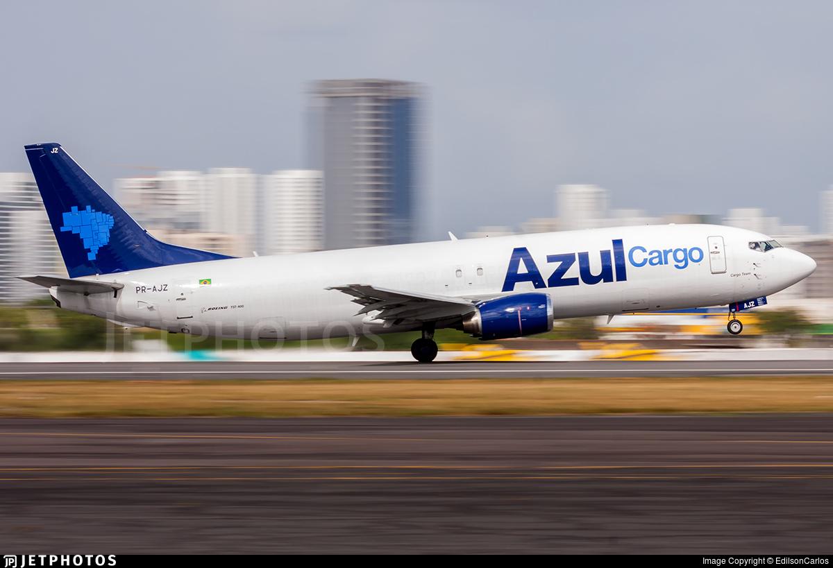 PR-AJZ - Boeing 737-48E(SF) - Azul Linhas Aéreas Brasileiras