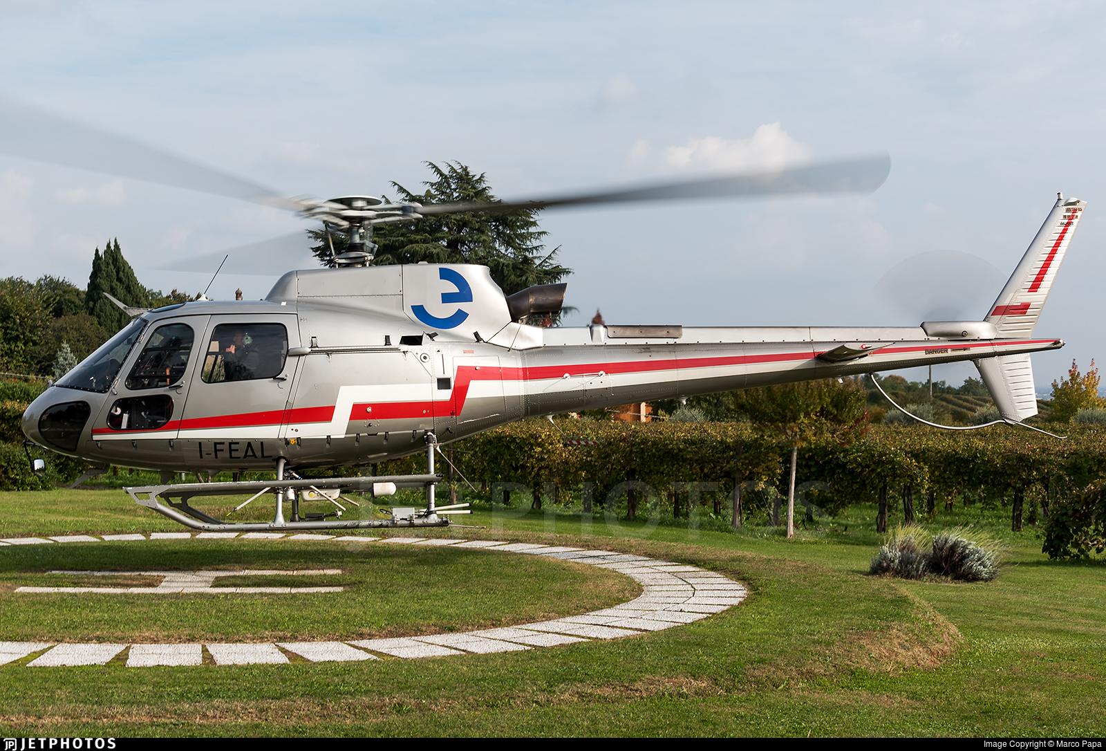 I-FEAL - Eurocopter AS 350B3 Ecureuil - Elitellina