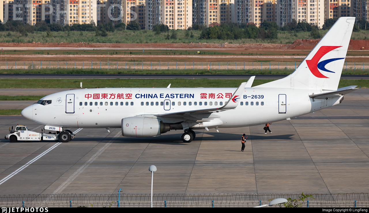 B-2639 - Boeing 737-7W0 - China Eastern Airlines