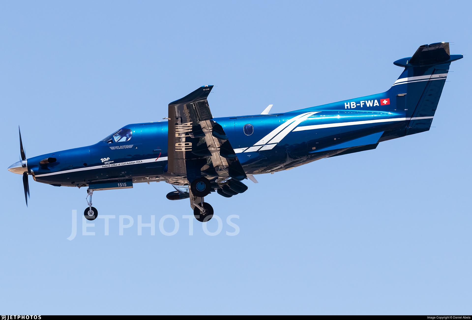 HB-FWA - Pilatus PC-12/47E - Switzerland - Bundesamt für Zivilluftfahrt (Federal Office of Civil Aviation)