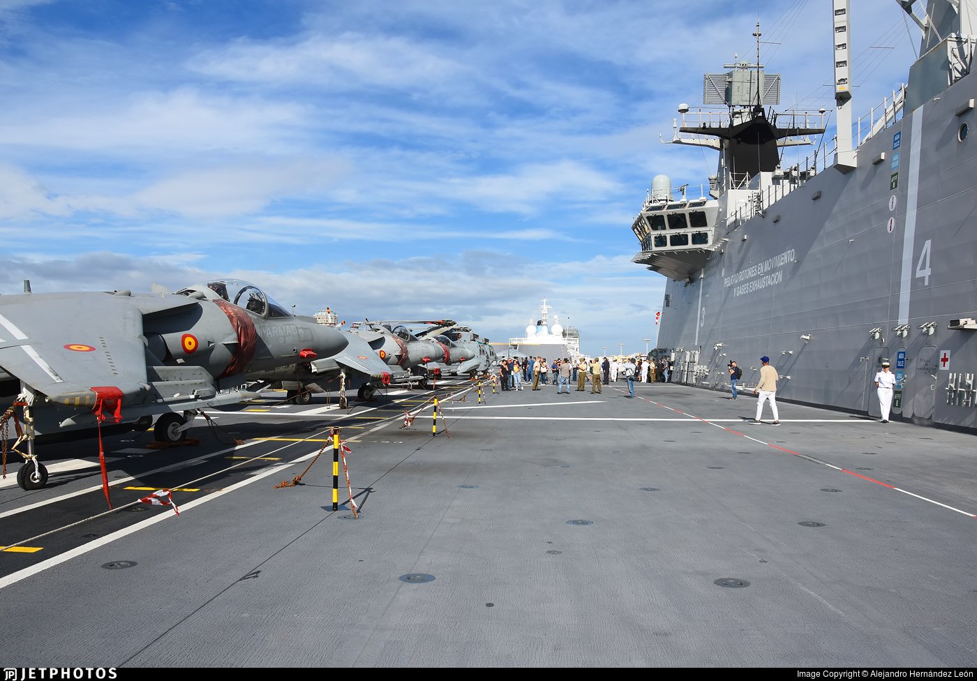 L-61 - Aircraft Carrier - Spain - Navy