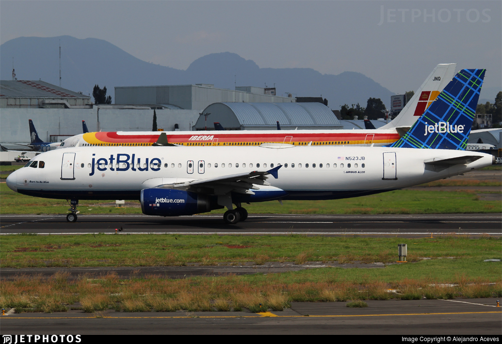 N523JB - Airbus A320-232 - jetBlue Airways