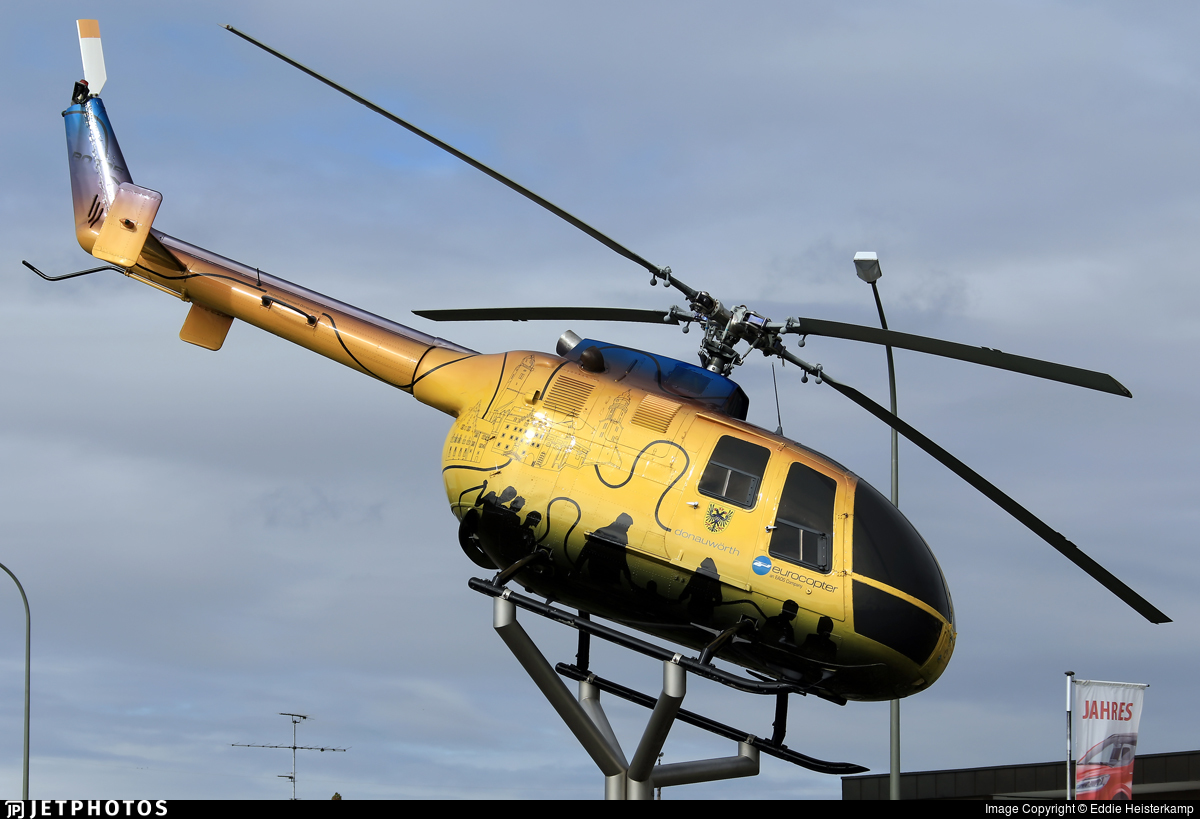 D-HMUP - MBB Bo105C - Eurocopter