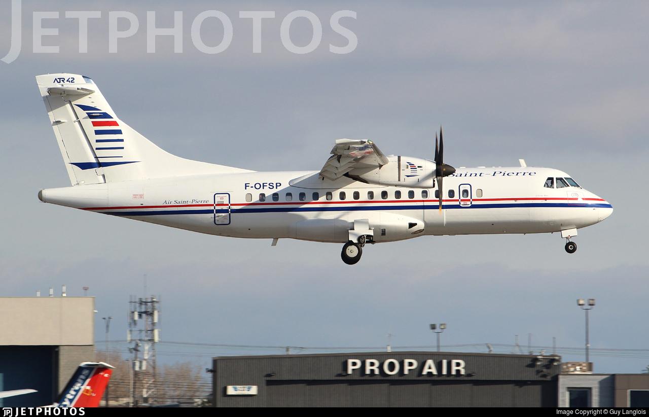 F-OFSP - ATR 42-500 - Air Saint-Pierre