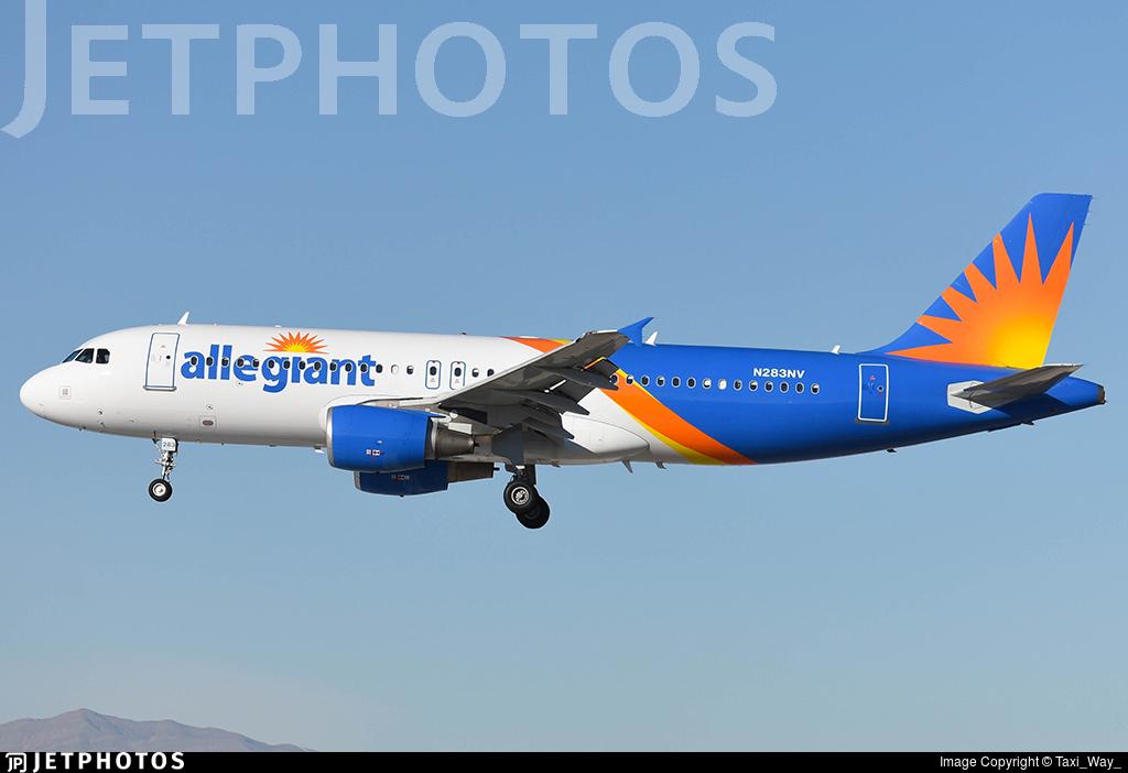 N283NV - Airbus A320-214 - Allegiant Air
