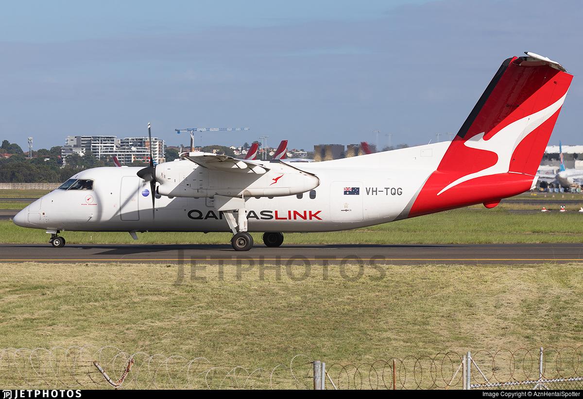 VH-TQG - Bombardier Dash 8-Q201 - QantasLink (Eastern Australia Airlines)