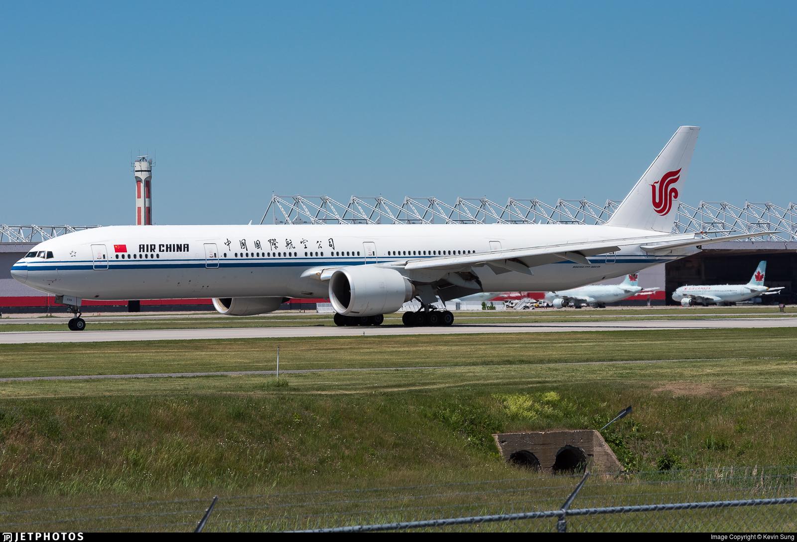 B-2039 - Boeing 777-39LER - Air China