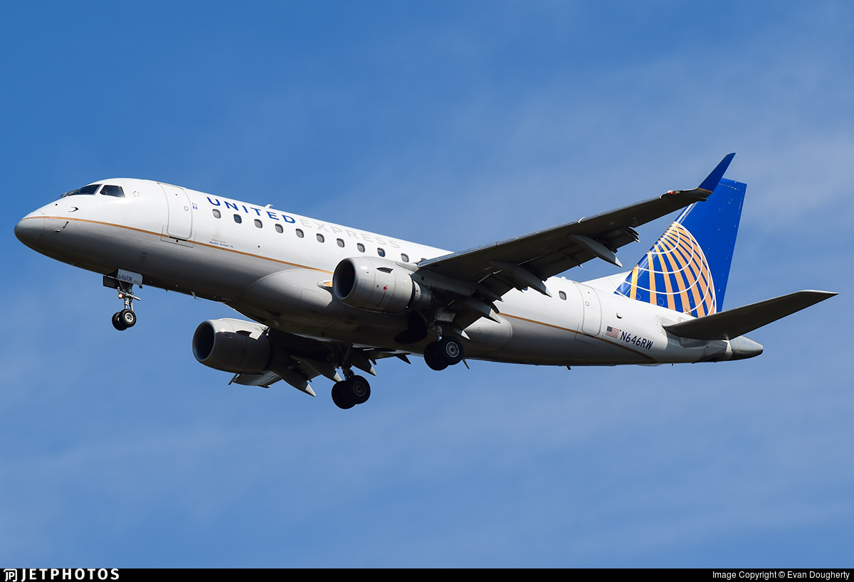 N646RW - Embraer 170-100SE - United Express (Republic Airlines)