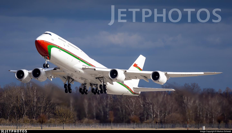 A4O-HMS - Boeing 747-8H0(BBJ) - Oman - Royal Flight