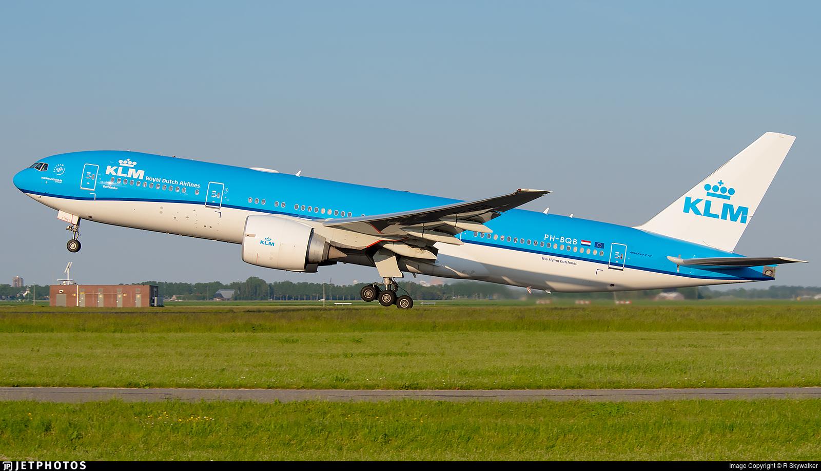 PH-BQB - Boeing 777-206(ER) - KLM Royal Dutch Airlines