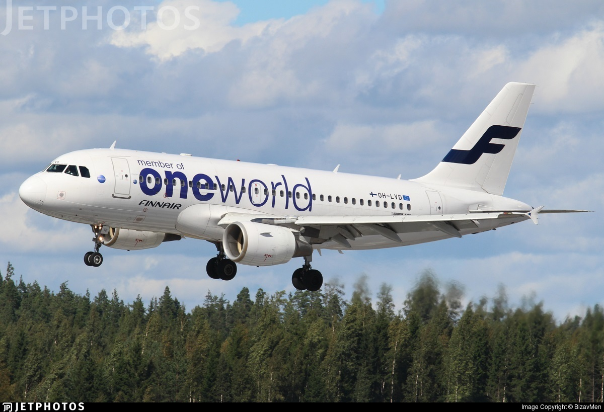 OH-LVD - Airbus A319-112 - Finnair