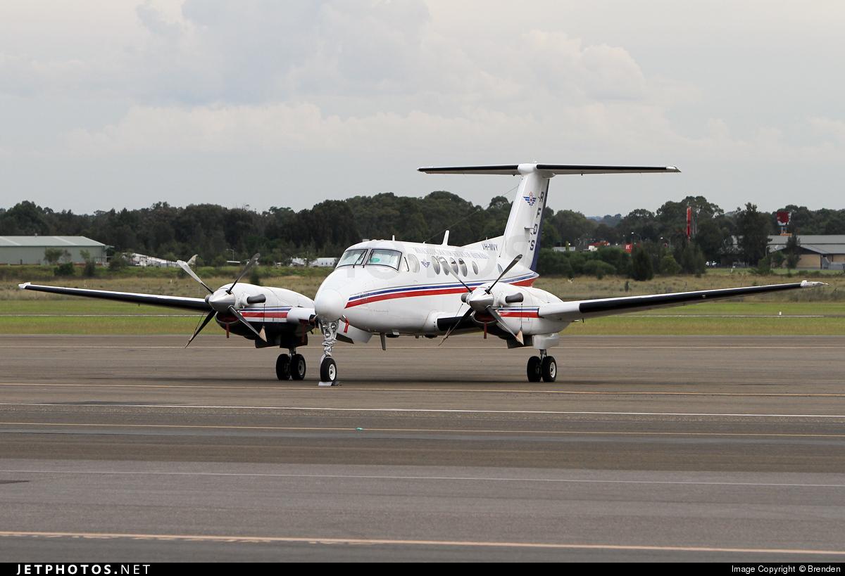 VH-MVY - Beechcraft B200 Super King Air - Royal Flying Doctor Service of Australia (SE Section)