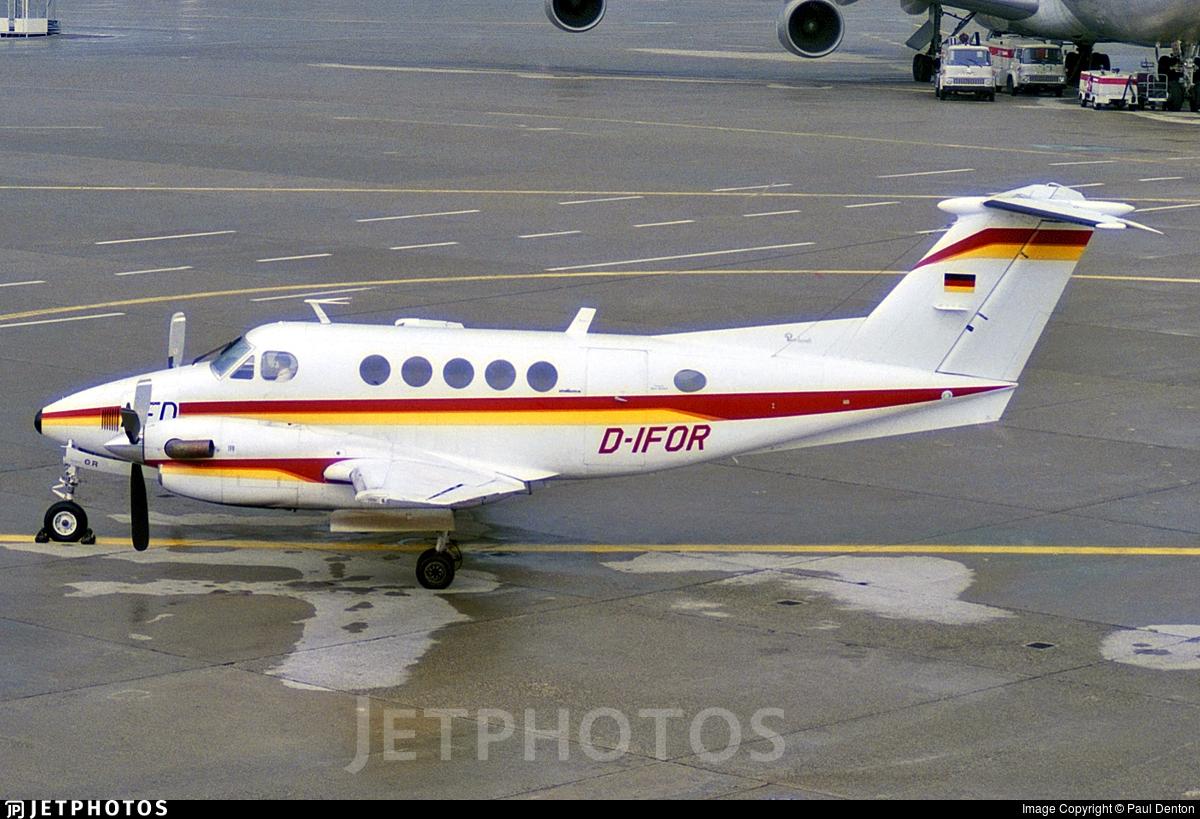 D-IFOR - Beechcraft 200 Super King Air - Nurnberger Flugdienst (NFD)