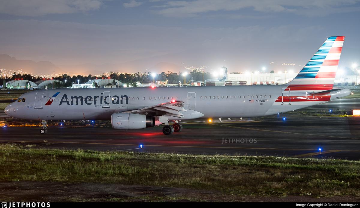 N981UY - Airbus A321-231 - American Airlines