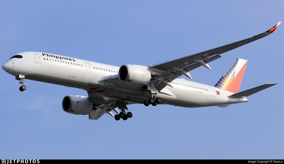 RP-C3501 - Airbus A350-941 - Philippine Airlines