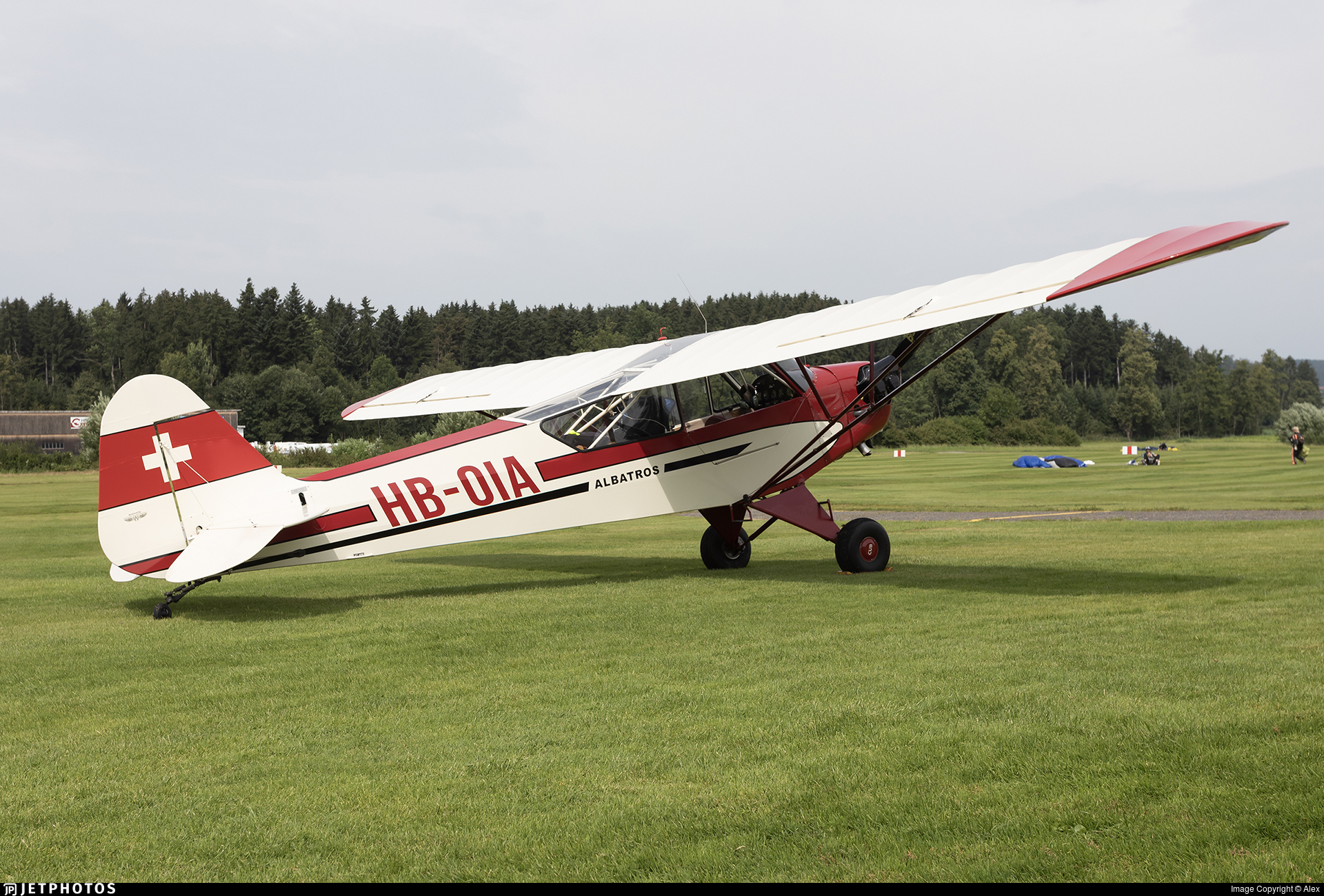 HB-OIA - Piper J-3C-90 Cub - Fluggruppe Albatros