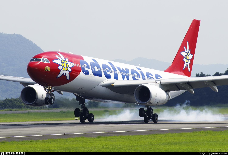 HB-IQZ - Airbus A330-243 - Edelweiss Air
