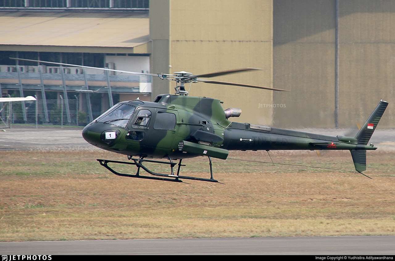 HS-7206 - Eurocopter AS 555 Fennec - Indonesia - Army