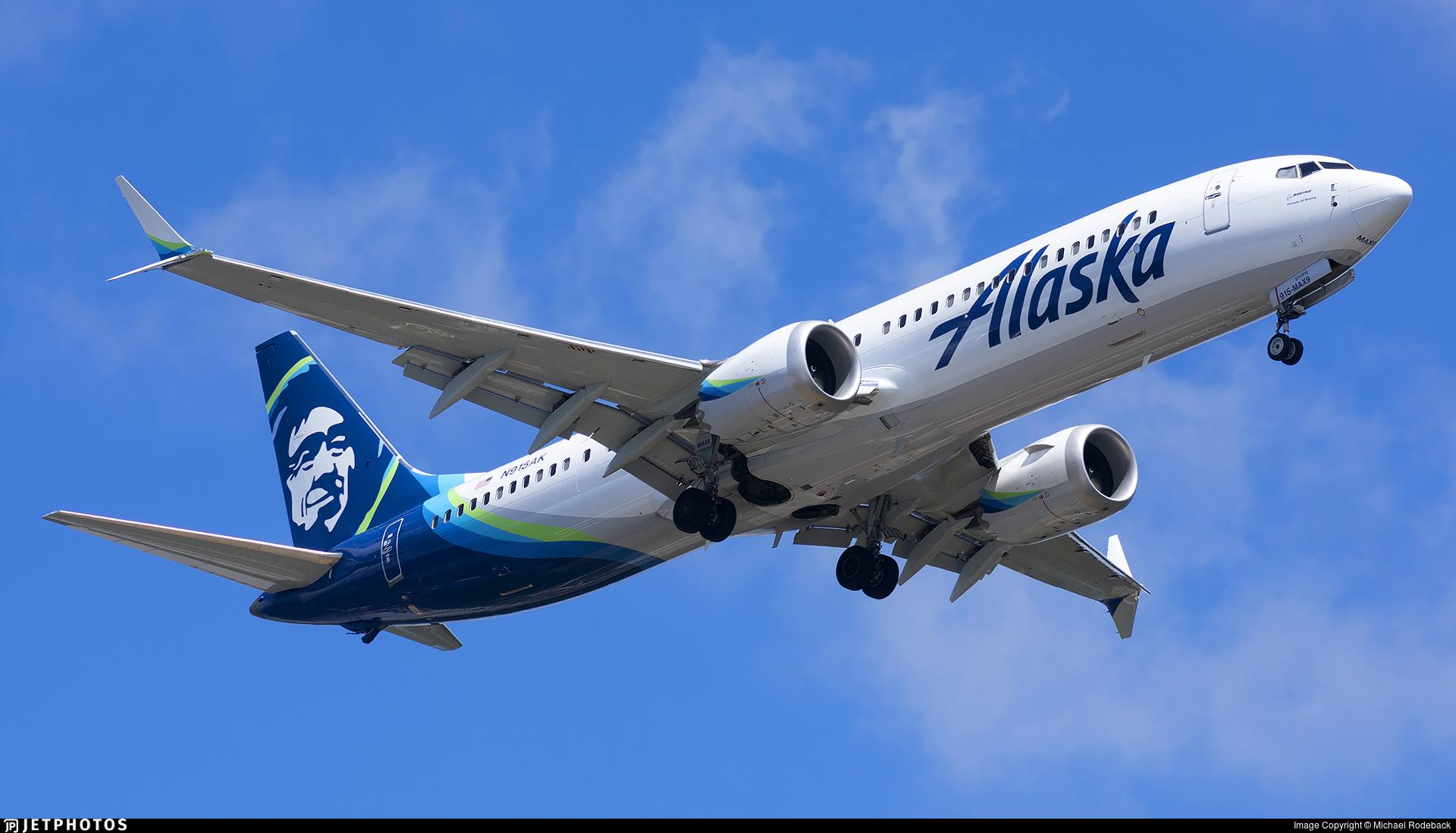N915AK - Boeing 737-9 MAX - Alaska Airlines