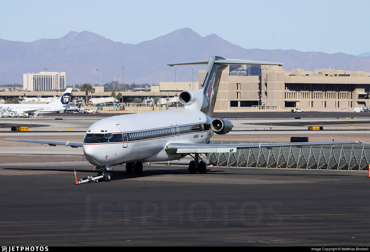 N698SS - Boeing 727-223(Adv) - Private