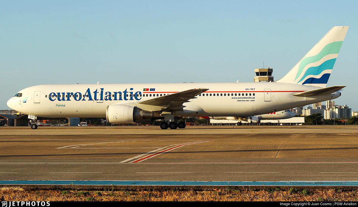 CS-TKT - Boeing 767-36N(ER) - EuroAtlantic Airways