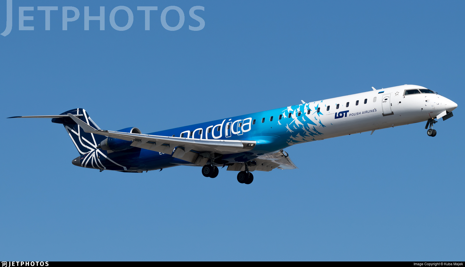 ES-ACB - Bombardier CRJ-900 - LOT Polish Airlines (Nordica)