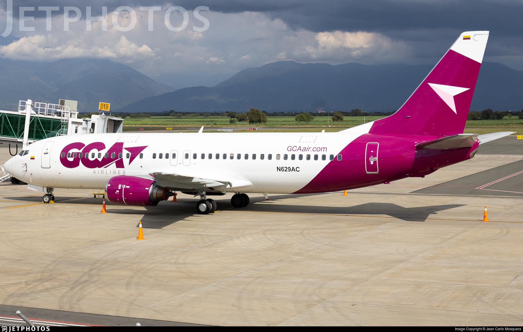 N629AC - Boeing 737-430 - Gran Colombia de Aviación (GCA)