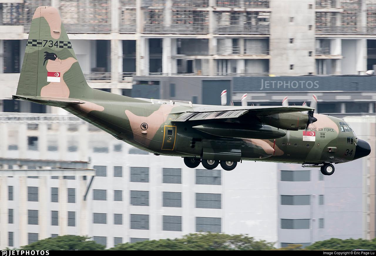 734 - Lockheed KC-130H Hercules - Singapore - Air Force
