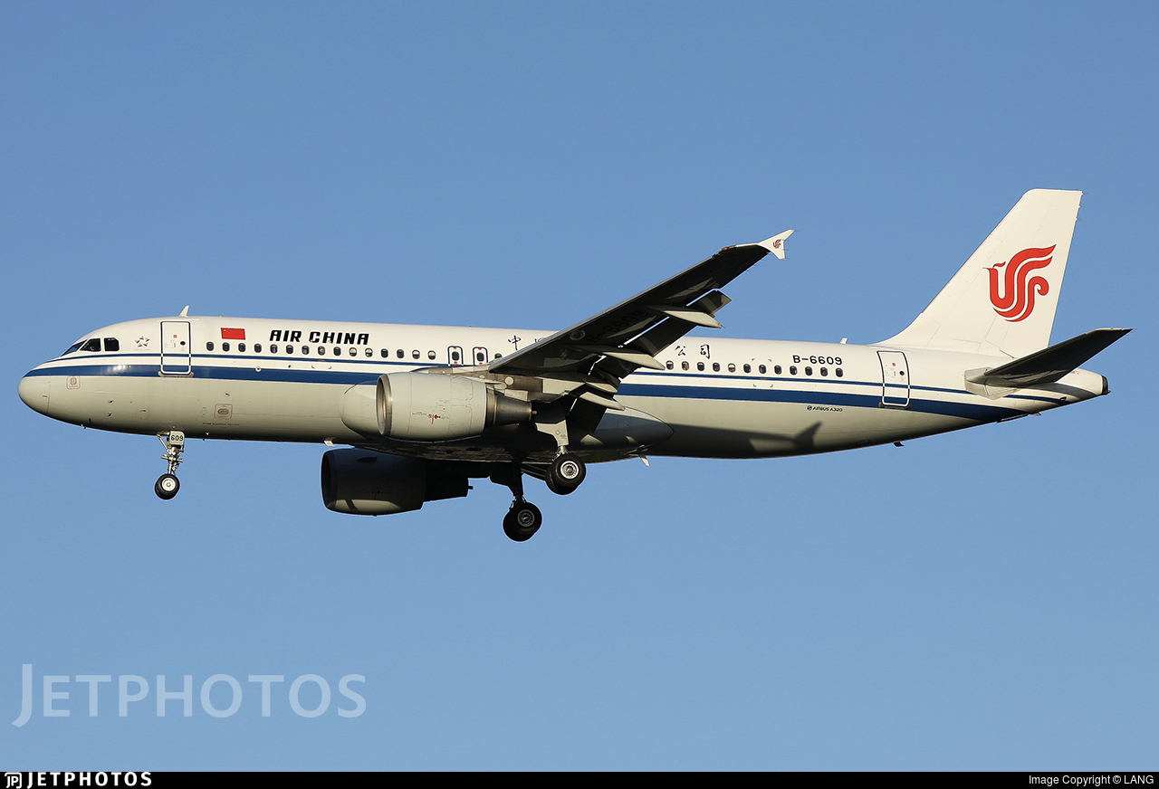B-6609 - Airbus A320-214 - Air China