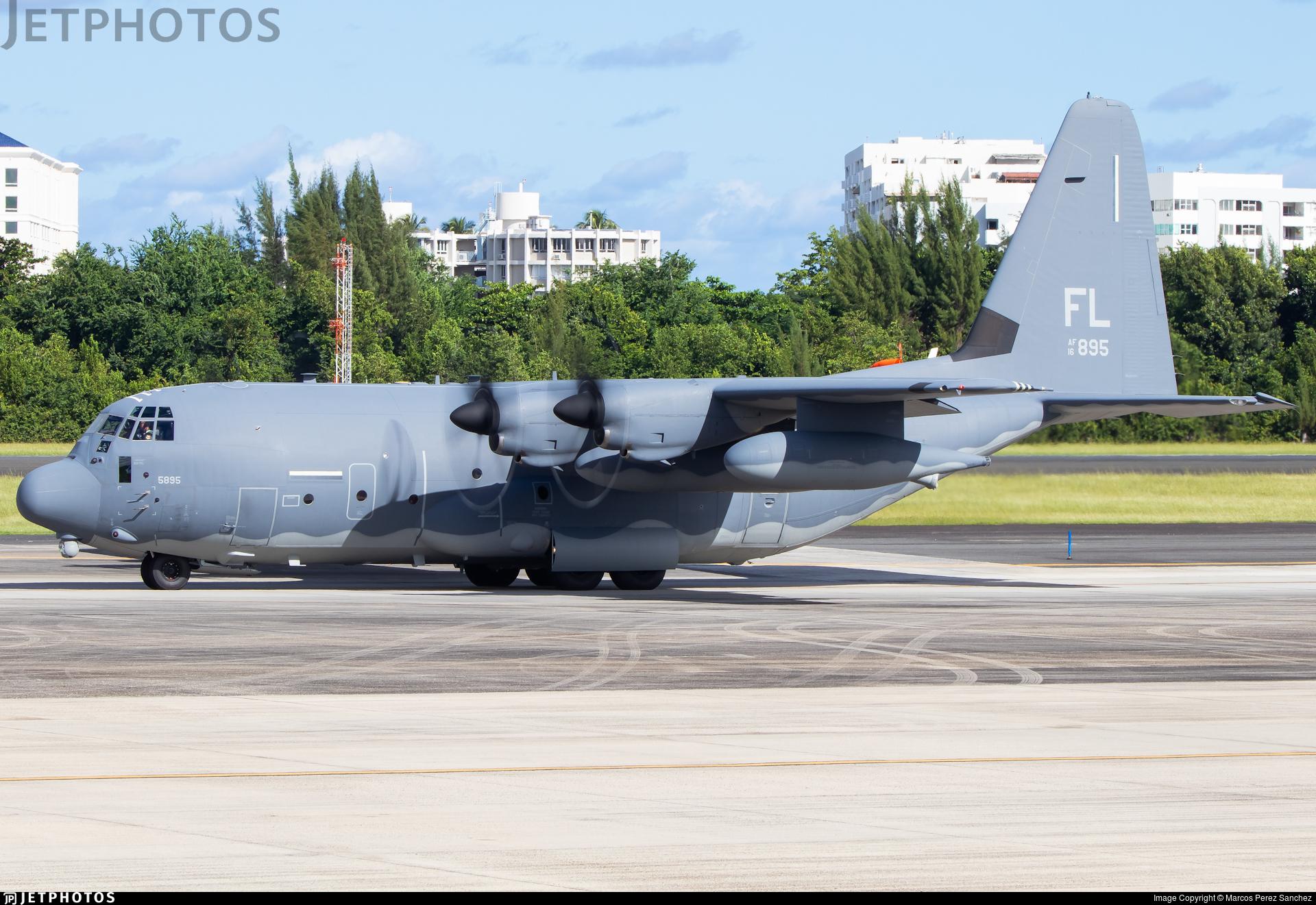 16-5895 - Lockheed Martin HC-130J Combat King II - United States - US Air Force (USAF)