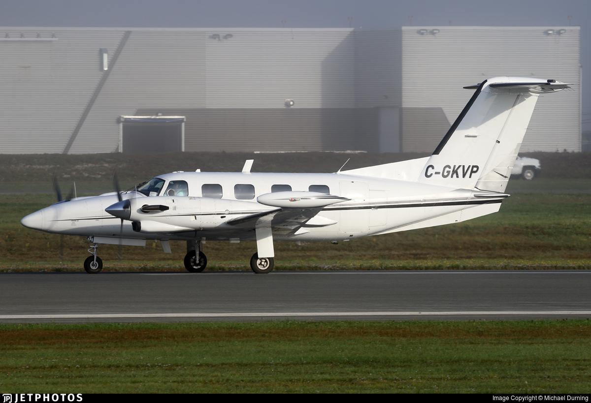 C-GKVP - Piper PA-42 Cheyenne III - Manan Air Services Inc.