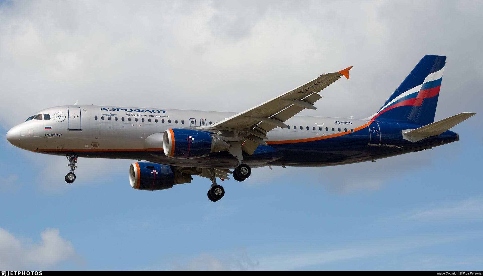 VQ-BKS - Airbus A320-214 - Aeroflot