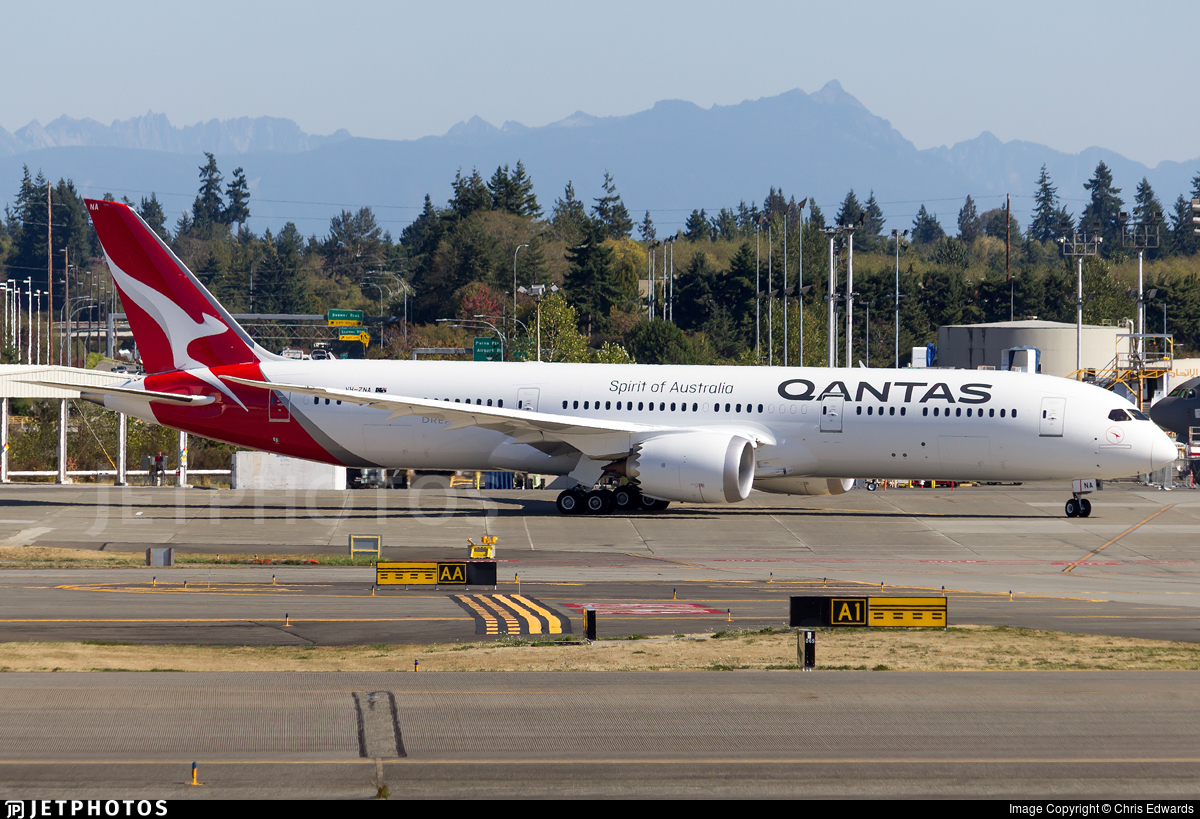 Image result for qantas 787 vh-zna