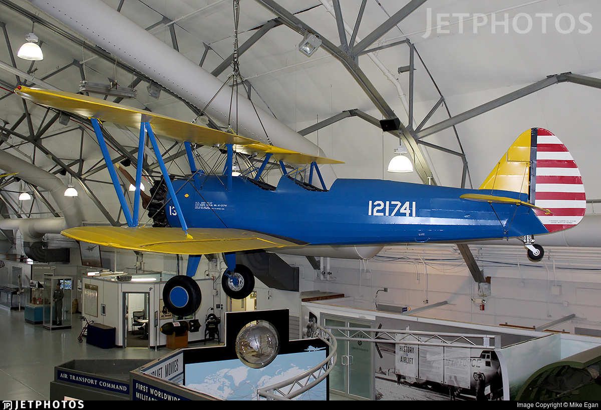 121741 - Boeing PT-17 Kaydet - United States - US Army Air Force (USAAF)