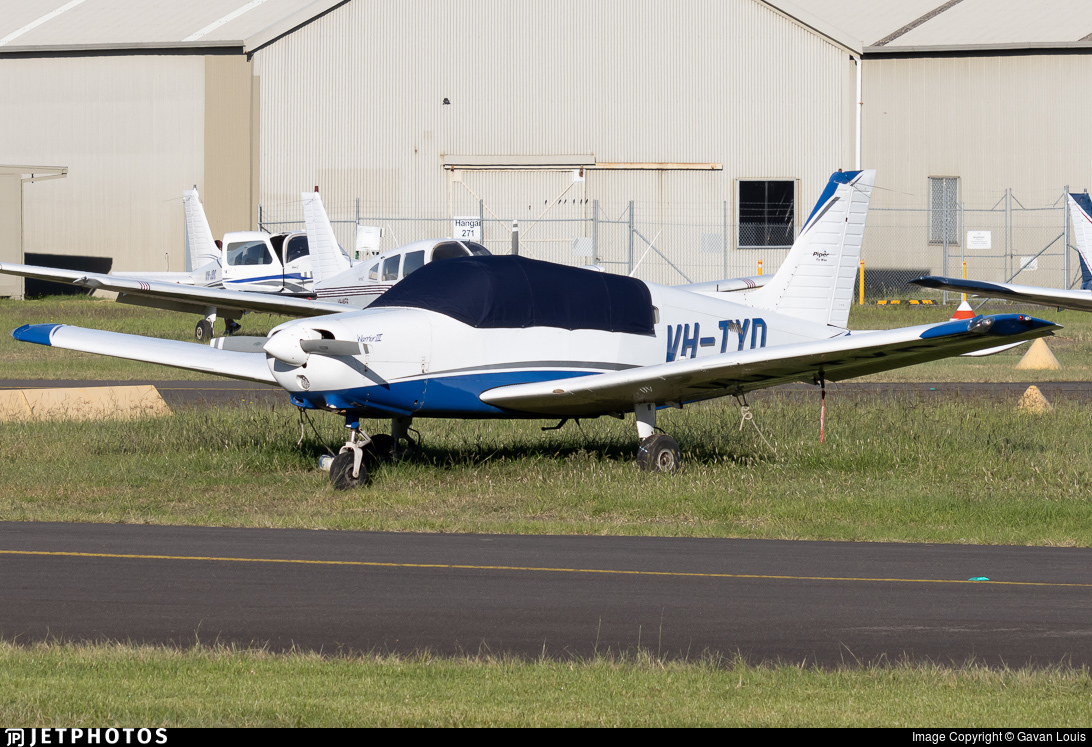 VH-TYD - Piper PA-28-161 Warrior III - Private