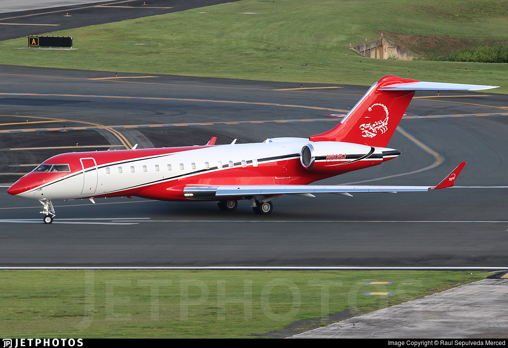 N60BJ - Bombardier BD-700-1A10 Global Express XRS - Private