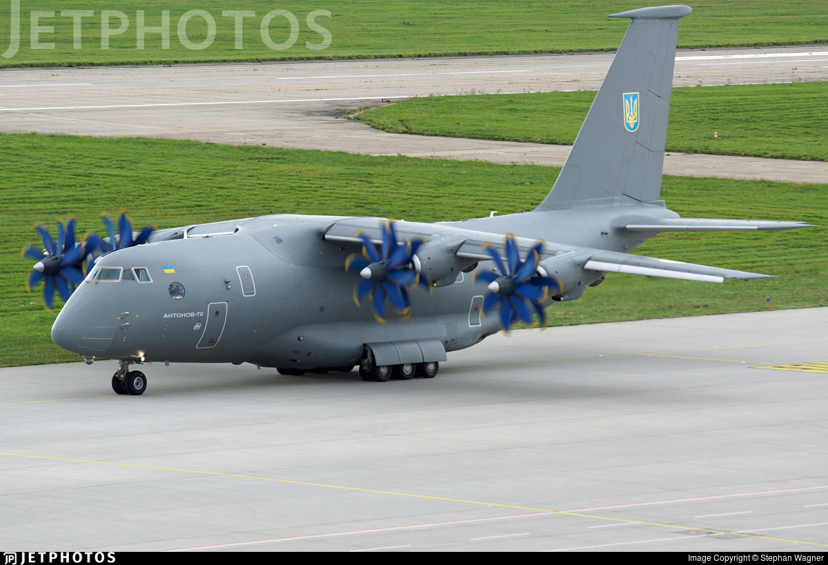 02 - Antonov An-70 - Ukraine - Air Force