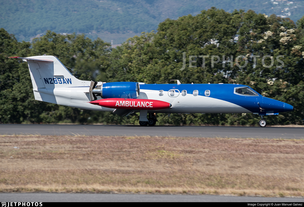 N289AW - Bombardier Learjet 35A - Private