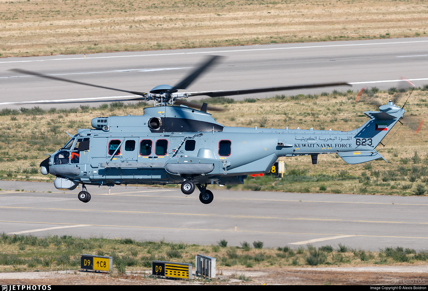 F-ZWBD - Airbus Helicopters H225M - Kuwait - Naval Force