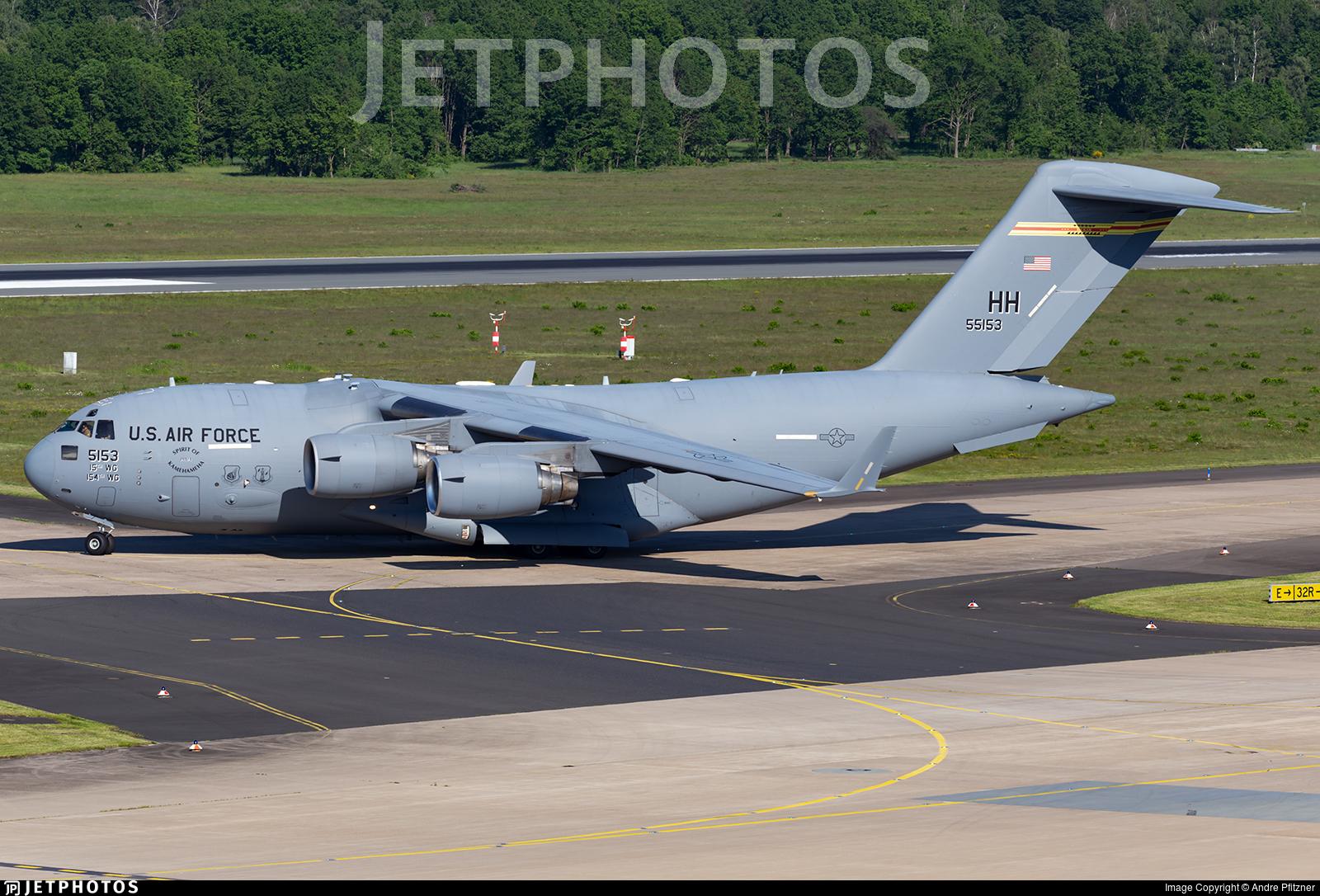 05-5153 - Boeing C-17A Globemaster III - United States - US Air Force (USAF)