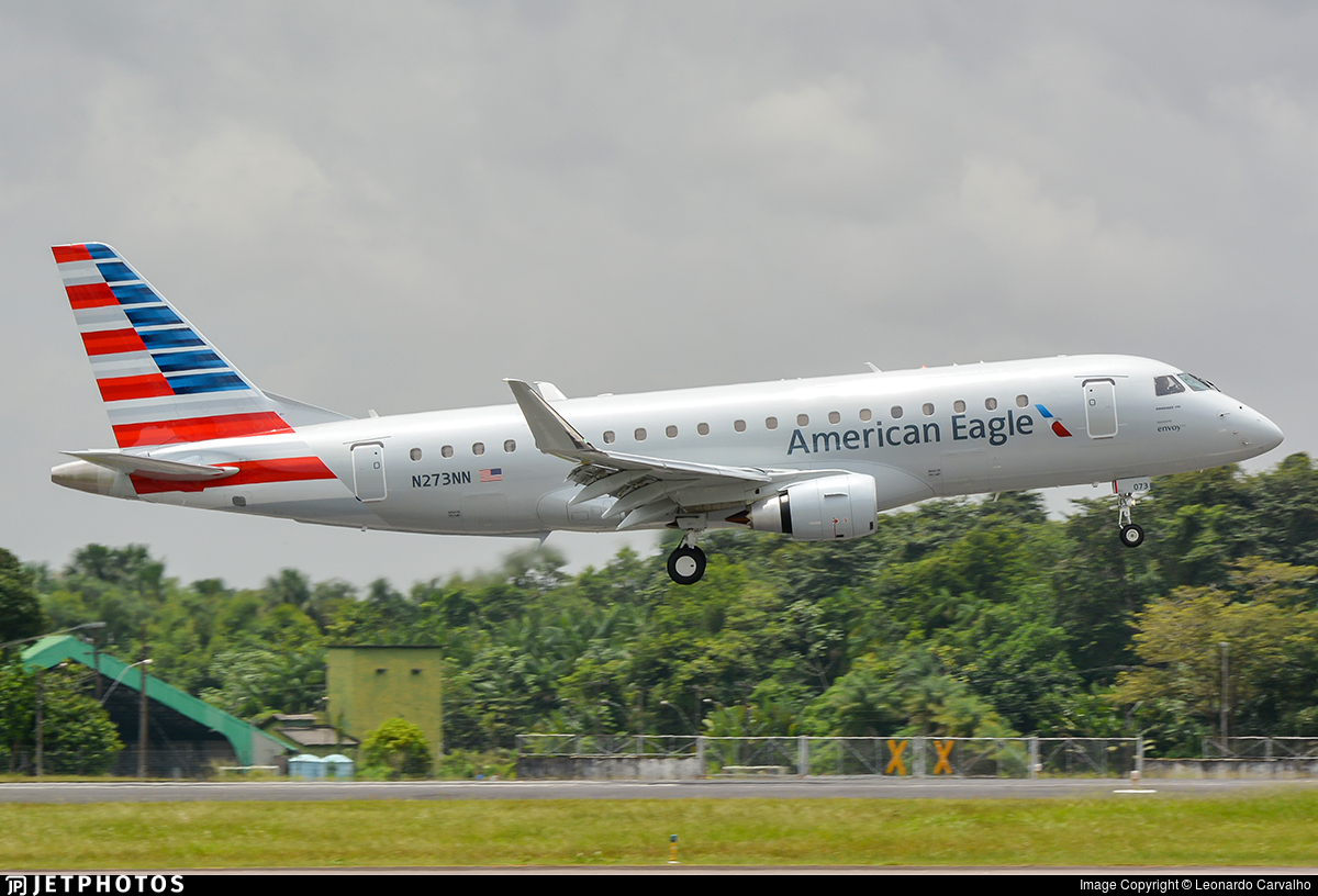 N273NN - Embraer 170-200LR - American Eagle (Envoy Air)