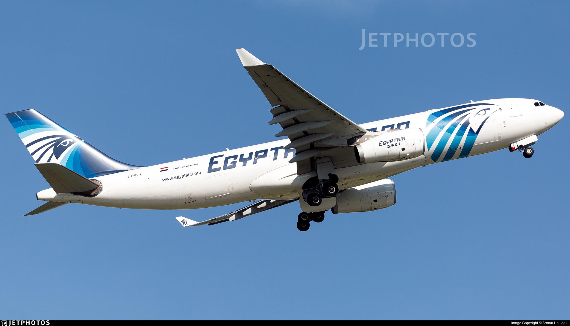SU-GCJ - Airbus A330-243P2F - EgyptAir Cargo