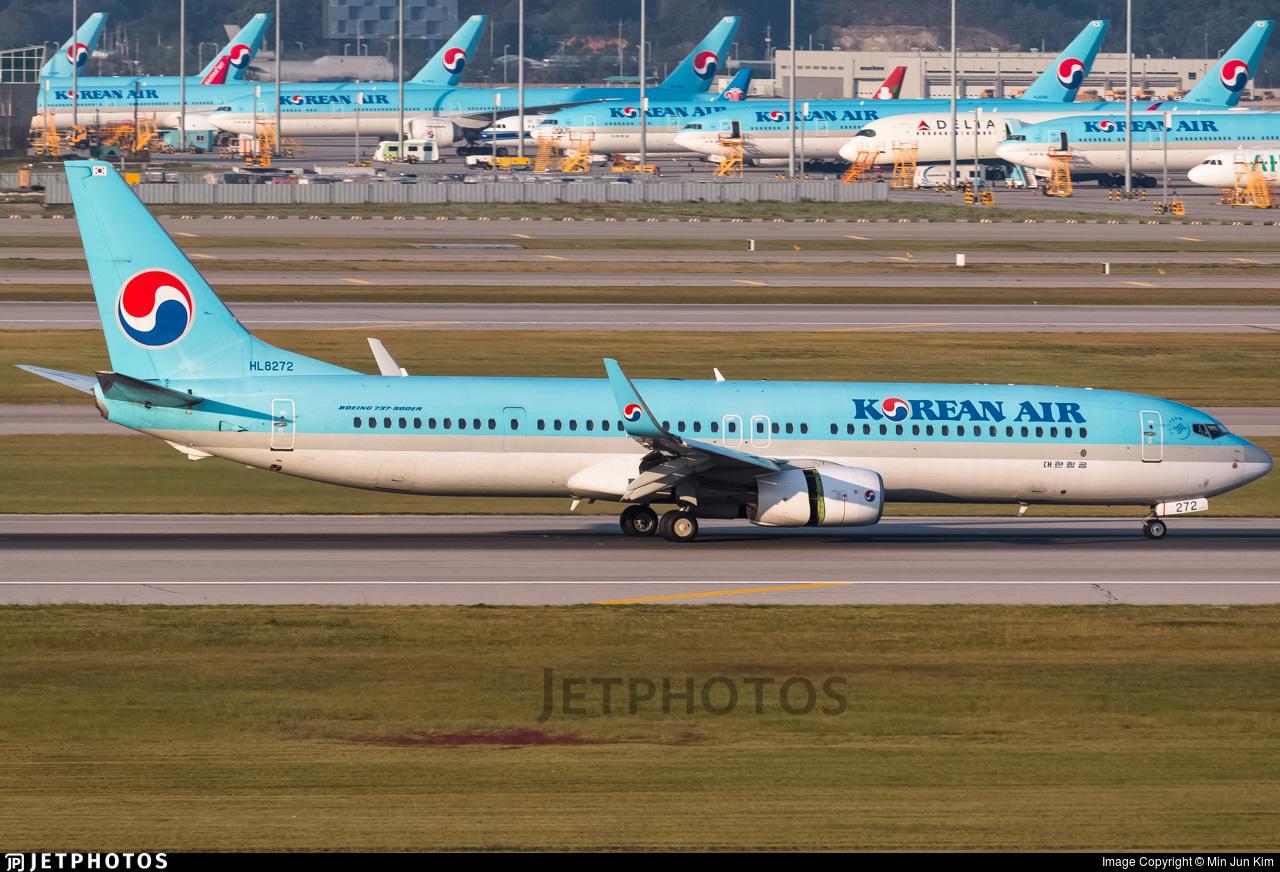 HL8272 - Boeing 737-9B5ER - Korean Air