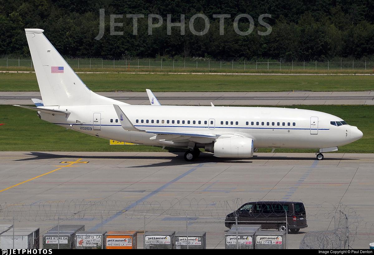 02-0203 - Boeing C-40C - United States - US Air Force (USAF)