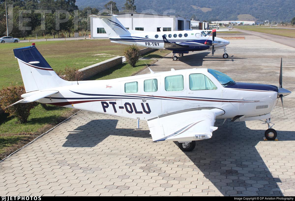 PT-OLU - Beech A36 Bonanza - Private